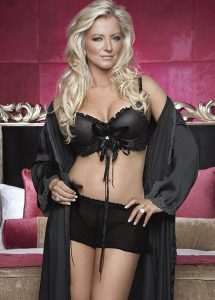 Lady Michelle Mone, Baroness Mayfair, member of the rampantly un-democratic House of Lords n Ladies